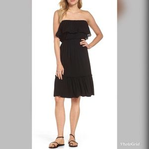 NWT Felicity & Coco Black Overlay Dress
